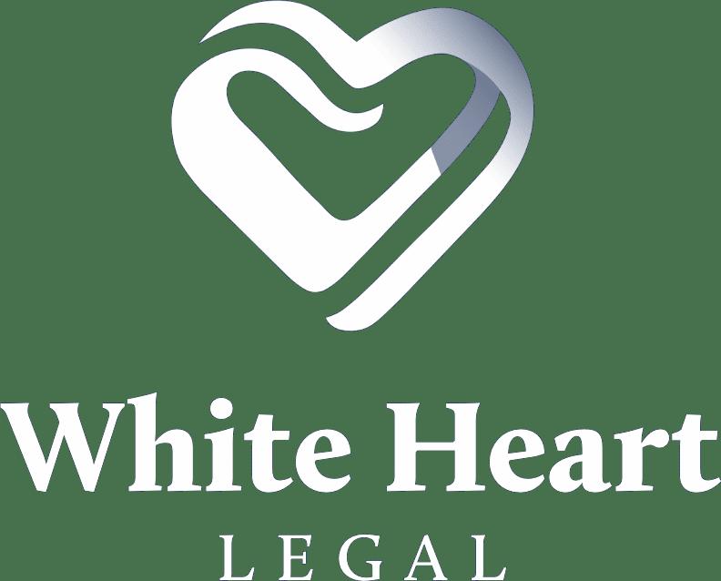White Heart Legal Logo